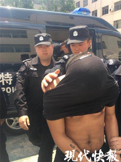 胆大!连云港95后小伙持枪抢劫顺风车司机