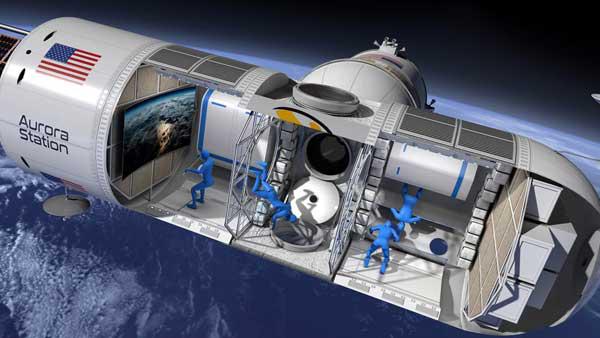 环球首家太空旅店将于2022年开门迎客