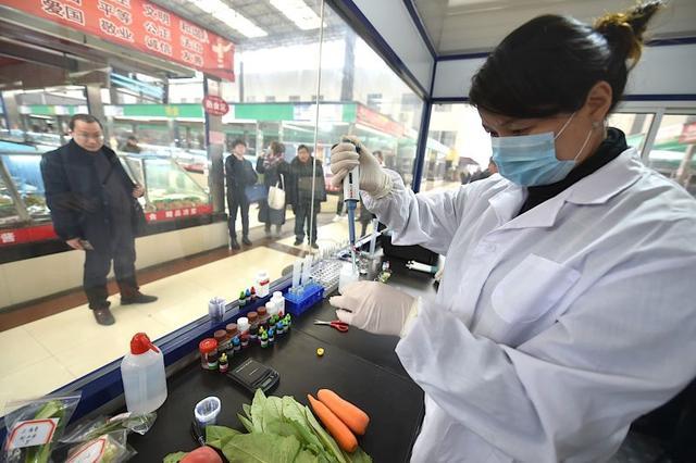 徐州食品安全四级快检体系让百姓放心