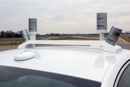 福特无人驾驶混合动力版蒙迪欧曝光