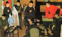 古代皇帝请客吃饭都会吃些什么?