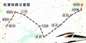 杭黄铁路开始联调联试 南京到黄山有望大提速