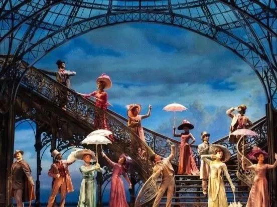 美国百老汇英文原版音乐剧《一个美国人在巴黎》