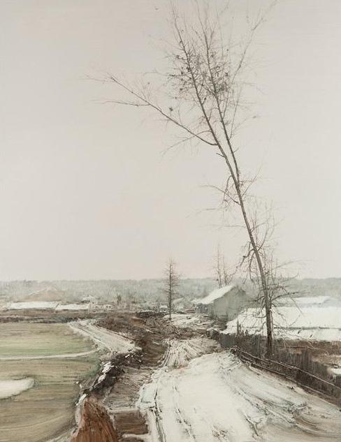 陆庆龙绘画作品展在南大美术馆开幕 满满都是乡愁图片