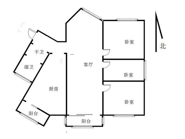 吉庆家园逢春苑 115㎡ 348万