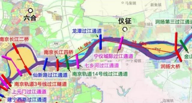 江苏又一条过江通道来啦 明年下半年开工