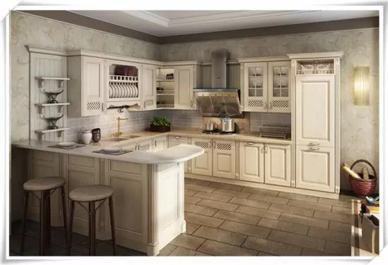 厨柜手绘效果图