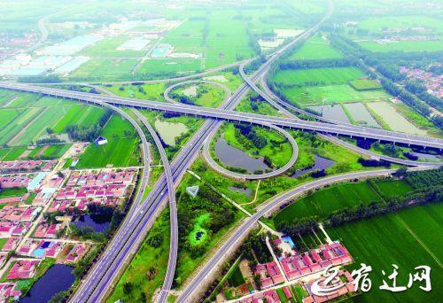 """宿迁综合交通枢纽""""呼之欲出"""" 构建现代运输网"""