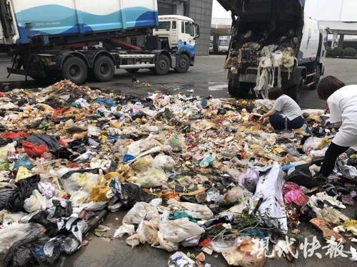 女子翻4吨多垃圾 他人价值十万多的钻戒终找回