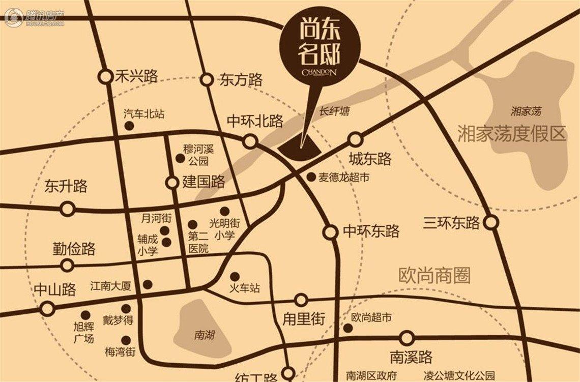 嘉兴南湖周边地图