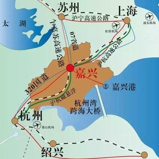 背靠上海的嘉兴湾区竟有胆比肩雄安、粤港澳湾区?