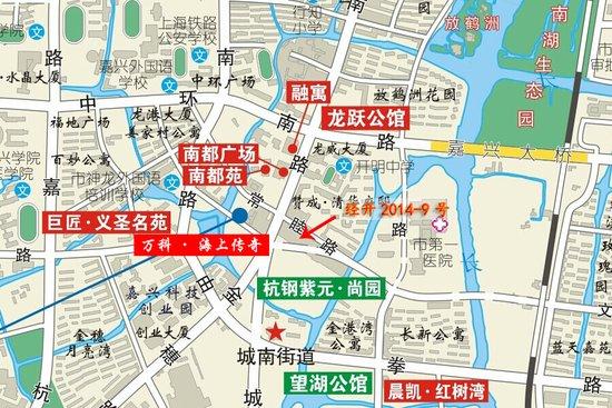 嘉兴科技城规划图