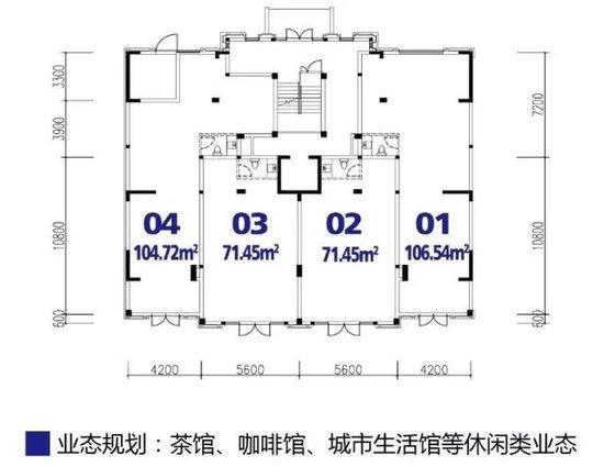 丽江半岛好铺推介——南区2#楼临街单底旺铺
