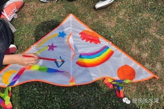 一起来DIY手绘风筝图片