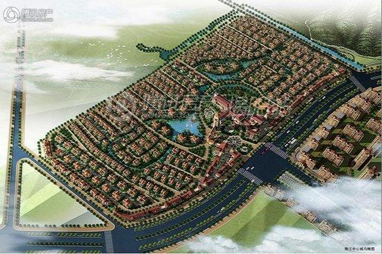 隆江新城:面积85-260㎡房源在售 最低售3888元/㎡