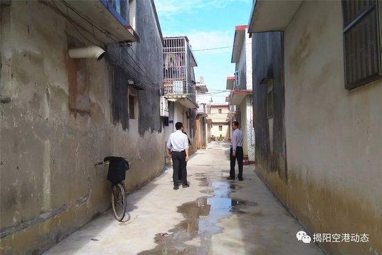 揭阳空港经济区京冈街道积极推进雨污分流工程建设