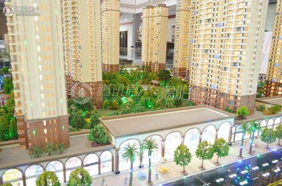 御景城3期:面积约200㎡的房源在售 均价8500元/㎡