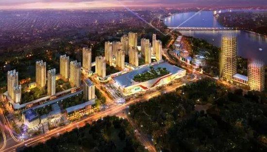 吉林市市长张焕秋参观考察吉林昌邑万达广场项目