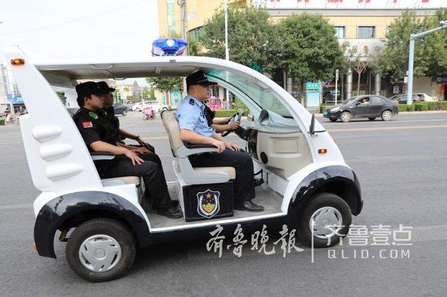 济南商河推移动警务新模式