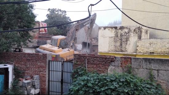 签了协议却不搬!经十一路棚改项目5户房屋被拆除