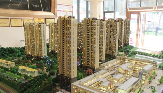 中国铁建·公园3326 11月工程进度