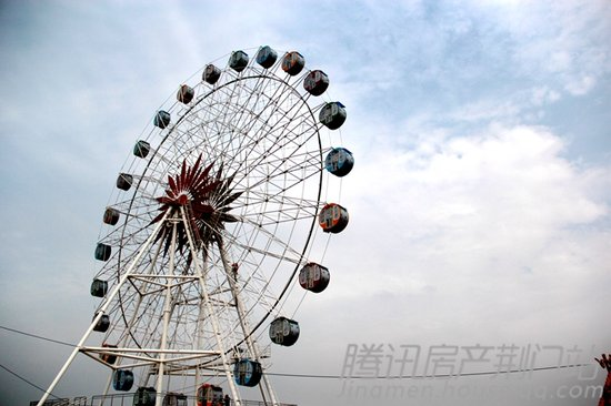 荆门欢乐世界游乐园4月最新工期报道