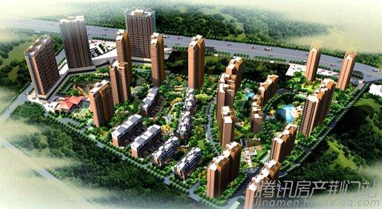 小Q看房:飞扬新天城—光和景观 有机生活