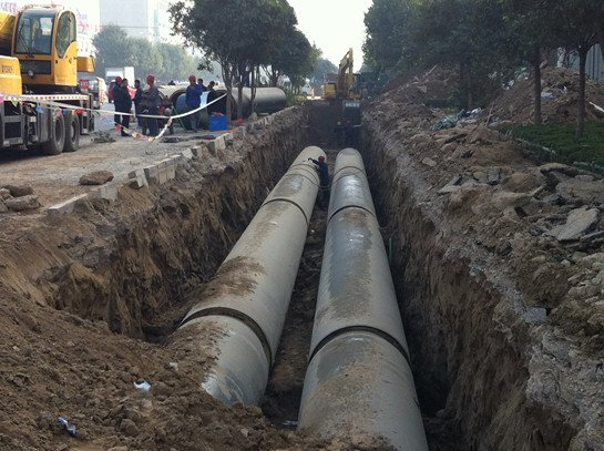 荆门市中心城区开展供热压力管道整治