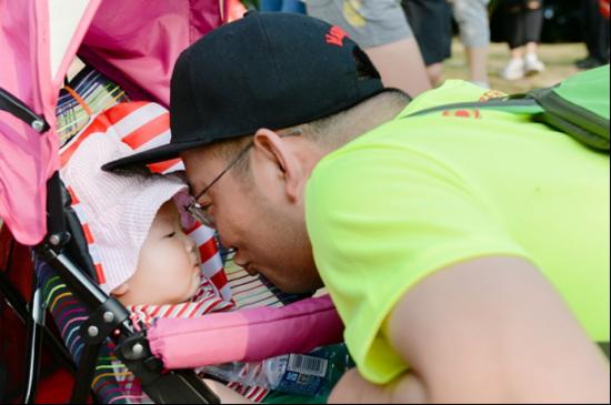 荆门星球·世界城组织千人徒步赛 520为爱启程