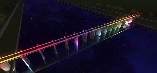 金东新城将要有座七彩桥!让我们先睹为快!_频