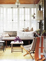 用一间阳光房温暖整个冬季
