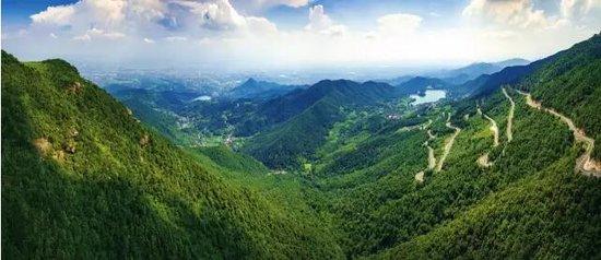 金华山南线绿道串起最美风景 江北回归生态宜居