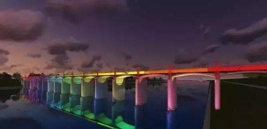 金东新城将要有座七彩桥!让我们先睹为快!