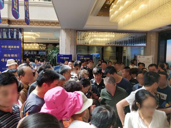 中梁·湖滨首府城市双展厅火爆开放
