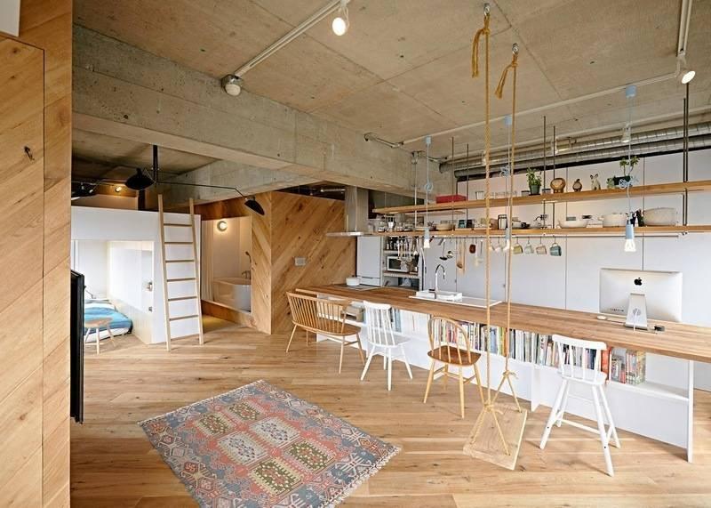 日本夫妇温馨的工作室