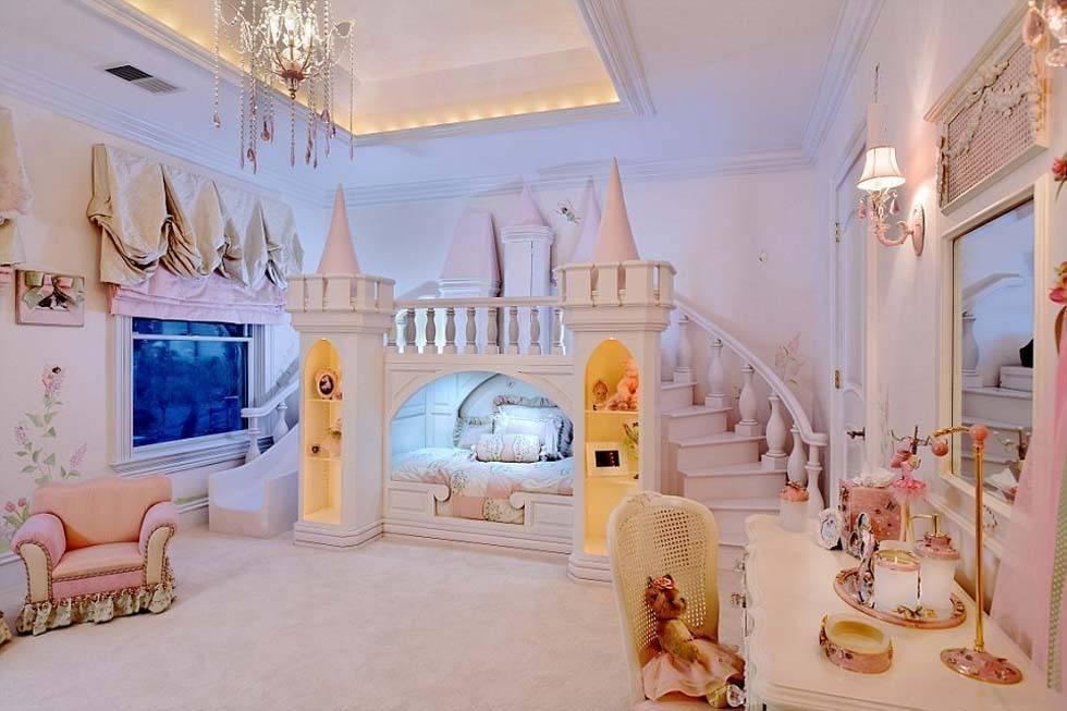 设计师设计的奢华儿童房