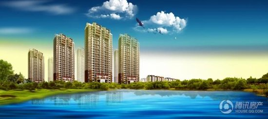 水墨华府集休闲、购物、教育功能为一体的便利生活圈