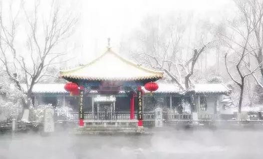 当济南的冬天遇上济南的楼