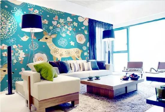 创意手绘墙 让家独具魅力
