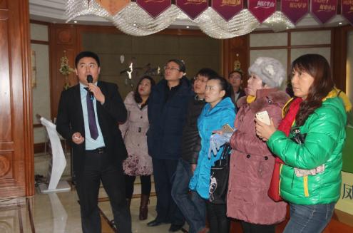撒花庆祝 圣诞节腾讯东线看房团活动圆满落幕
