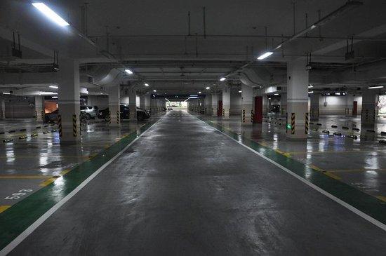 杭州西溪诚园地下车位实景图