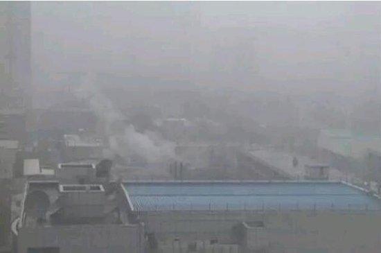 雾霾天楼层越高空气越好?记者求证:无必然联系