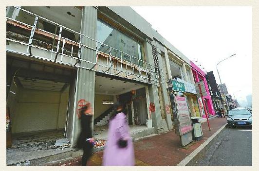 山师东路商业街将成旧忆 客流减少租金上涨已繁华不再