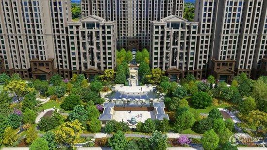 中国中铁诺德名城50 150平户型 均价7000元 平