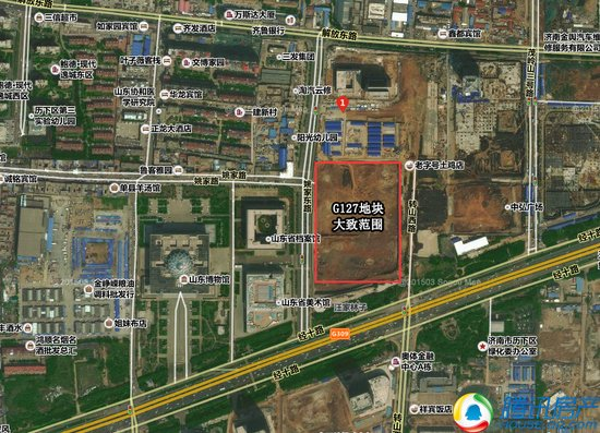 2017年土地首拍清冷收场 济南CBD地下空间底价1亿成交