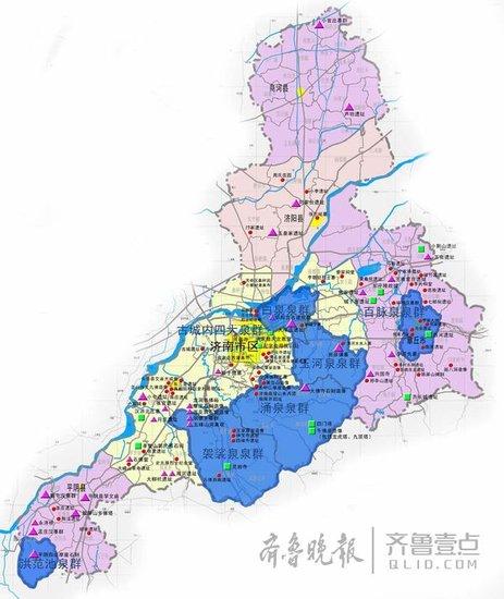 解读济南市城市规划:南部扩展不是无限制蔓延