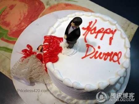 滑稽可笑的离婚蛋糕_搞笑片片