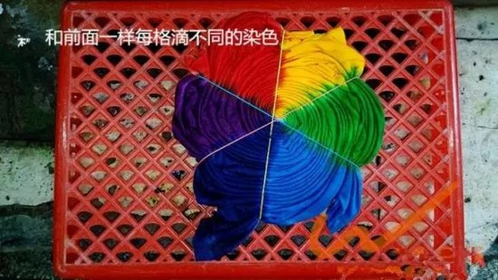 玩转色彩 | 扎染DIY,给您色彩斑斓的夏天!