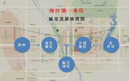 郑汴港金三角经济圈,开封未来何去何从?