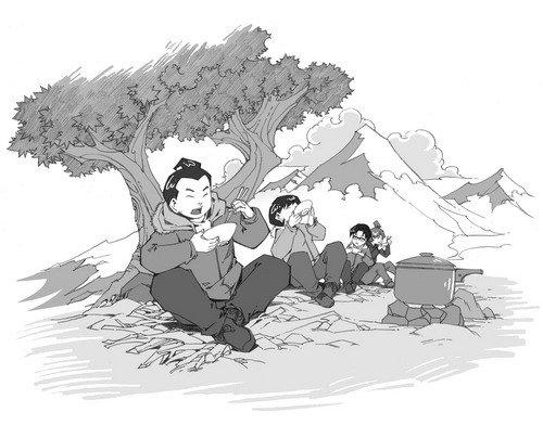 少年冒险王·大雪山里的狼娃